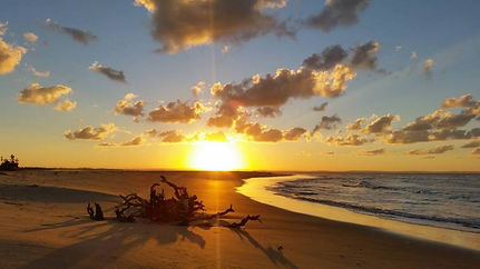 island sunset mozambique