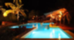 Mozambeat motel Tofo swimming pool