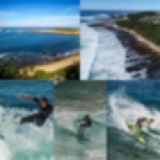 surfing montage