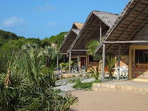 guinjata bay mozambique accommodation