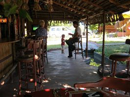 bar in tofo beach