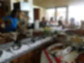 seafood buffet in tofo