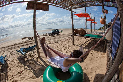 relax in a hammock mozambique