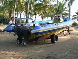 dive boat barra