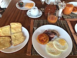 breakfast in mozambique