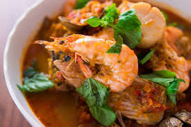 prawns from tofo beach