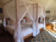 luxury tented accommodation mozambique