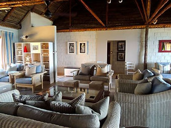 lighthouse reef lounge area