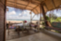 beach restaurant tofo mozambique