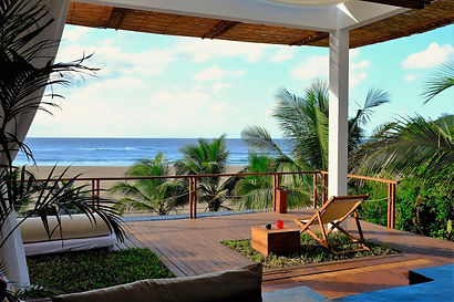 beach front accommodation mozambique