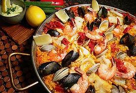 paella in Tofo