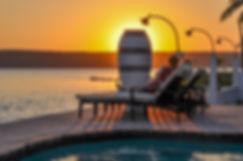 castelo do mar mozambique sunset