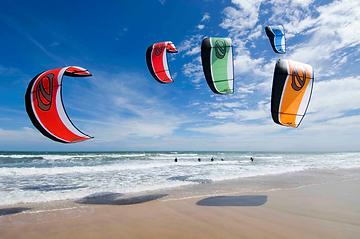 Kite Surfing Barra Beach