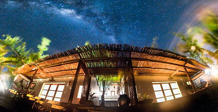 Gorgeous African sky at night