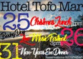 Hotel Tofo Mar New Years Eve