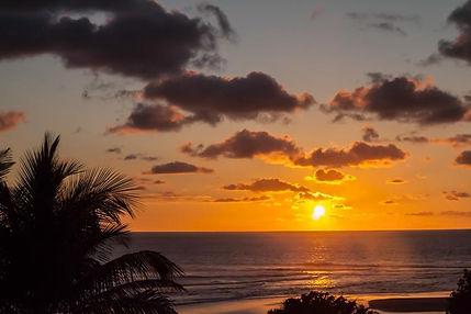 guinjata bay sunset