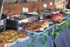 Albatroz lodge Tofinho Mozambique buffet