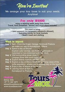 tofo tours