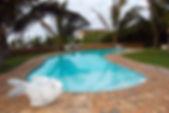 Casa John Tofo Mozambique swimming pool