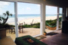 holiday home to rent with sea view mozambique