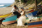 tofo beach wedding