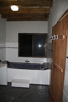 Bathroom with tub in Tofo