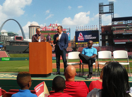 Cardinals Care Grant Ceremony and Award