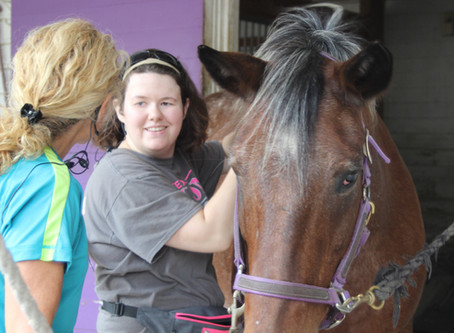 Horses are Heavenly for Rider with Cerebral Palsy
