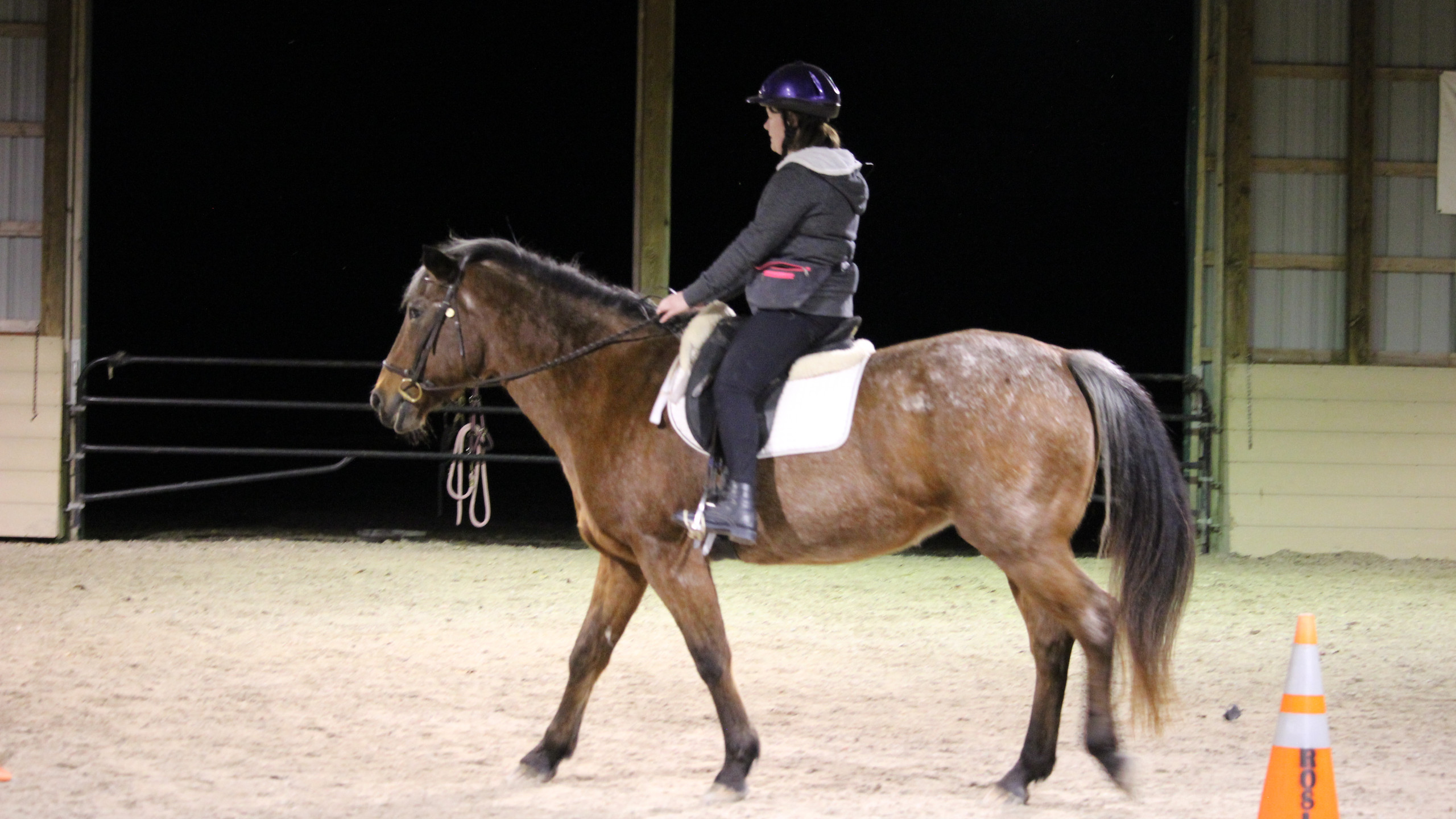 Katelyn on Lucy