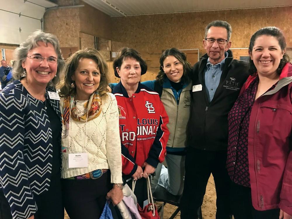 PATH Region 7 Conference 2019. Kathy Alm, CEO, PATH Intl.; Marita Wassman, Program Director, ROSL; Jeanne Johnson, Office Manager, ROSL; BriAnn Session, Grant Manager, ROSL; Ross Braun, President, PATH Intl.; Tera McCool, Board President, ROSL