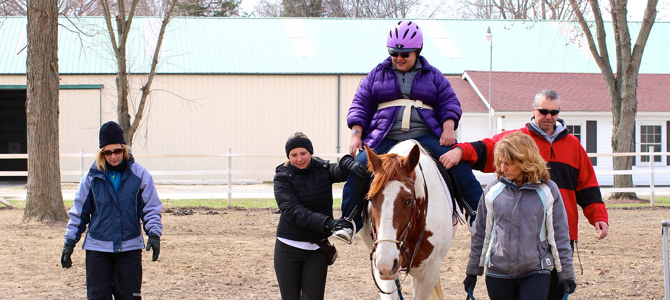 Ride On St. Louis, Equine-Assisted Therapy