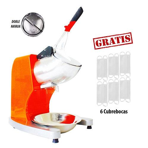 Máquina para Hacer Raspados Estructura Plástica Doble Navaja