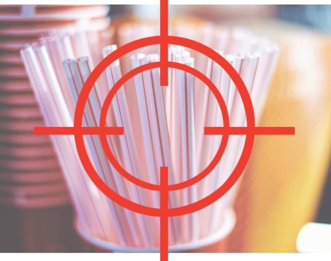 Why are the plastic straws being targeted only?