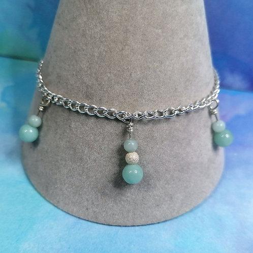 Amazonite chain bracelet
