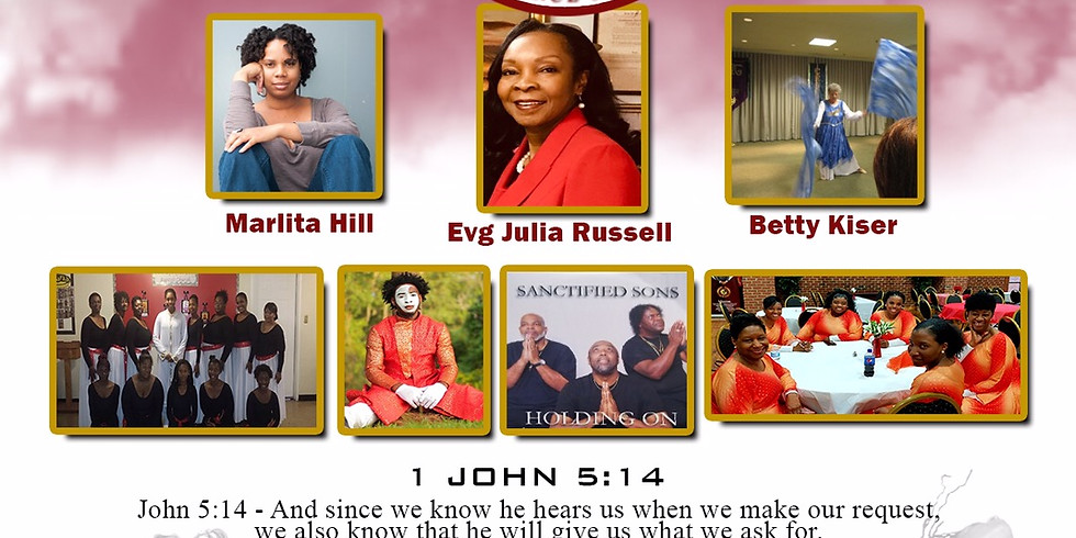 """Adult Dance Ministry """"Prayer Fight Conference"""""""