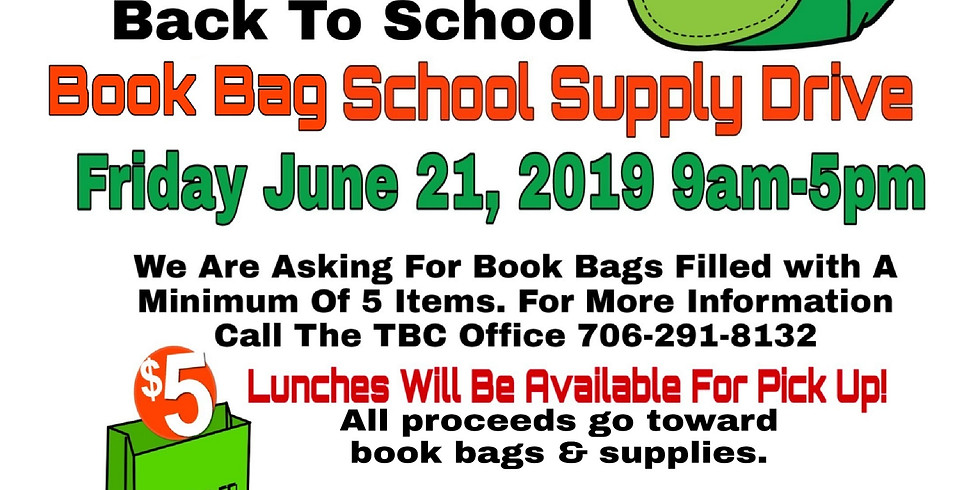 Pack the Van- School Supply Drive