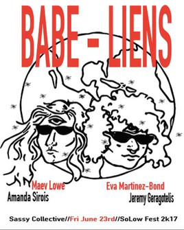 """Attack of the Babe-Liens,"" Sassy Performance Collective"