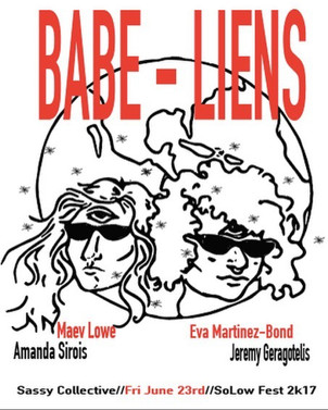 """""""Attack of the Babe-Liens,"""" Sassy Performance Collective"""