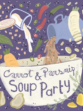 Carrot & Parsnip Soup Party