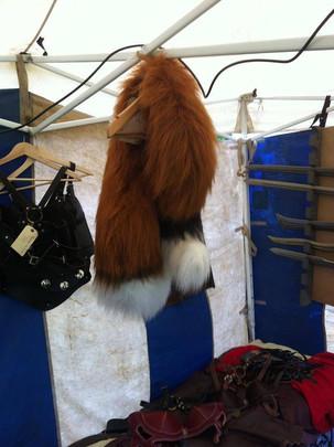 faux fur fox tails costume buy uk custom
