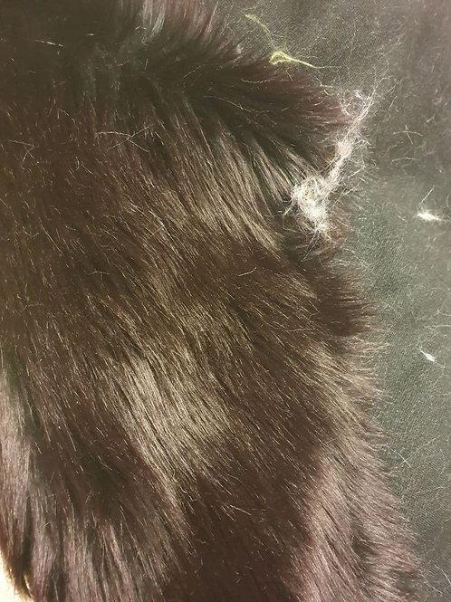 Howl Sangria Luxury Shag (Black base, sangria tips)