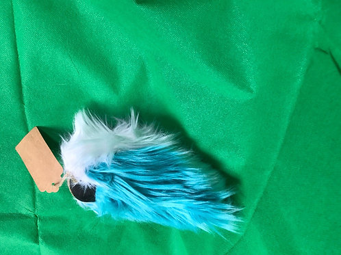 Turquoise and White Nub