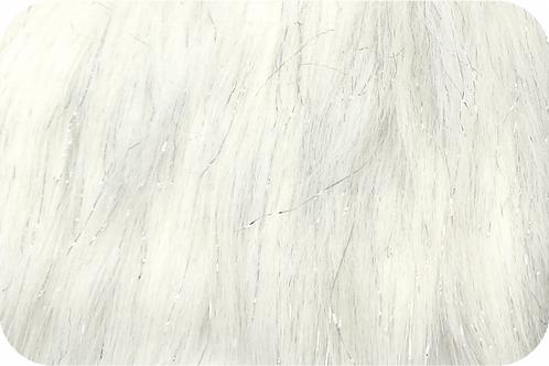 White Tinsel Fur