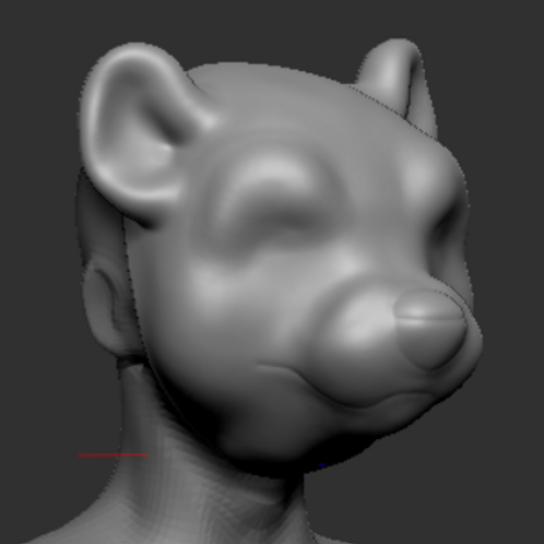Otter 3d printed head base