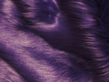 Purple Ecoshag - Half Yard Piece