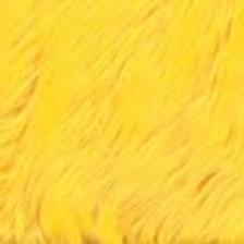 Neon Yellow Luxury Shag - Half Yard Piece