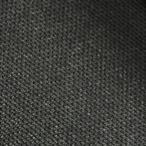 Black Buckram Fursuit Eye Mesh - 15cmx30cm
