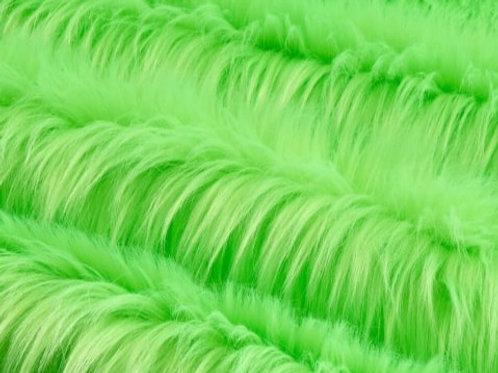 Uv Reactive Neon Green Luxury Shag