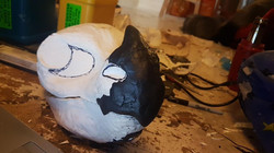 dragon fursuit head base resin or foam