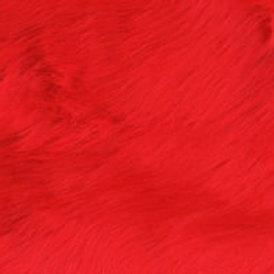 Fire Red Luxury Shag